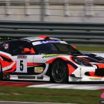 Cyndie Allemann in the Craft Eurasia Racing Ginetta G50Z GT3